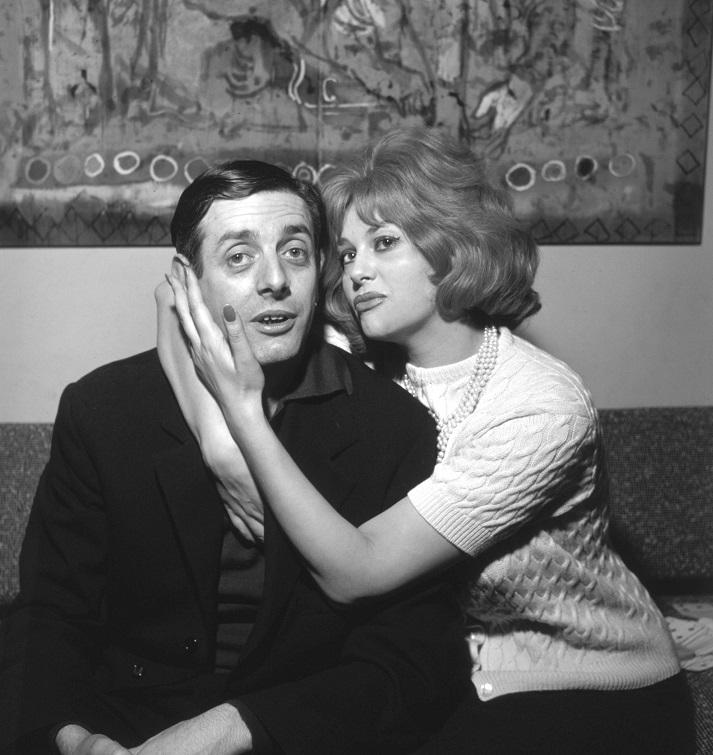 1962 Nella foto: gli attori Dario Fo e Franca Rame @ArchiviFarabola